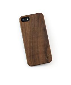 Hoentjen Creatie, Echt houten hardcase hoesje iPhone SE 2020 - notenhout