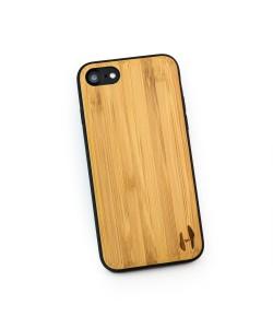 Hoentjen Creatie - Houten TPU case, iPhone 8 - Bamboe