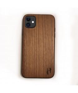 Hoentjen Creatie, Houten TPU case - iPhone 11 Noten