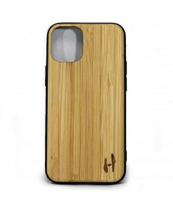 Hoentjen Creatie, Houten TPU case - iPhone 12 mini Bamboe