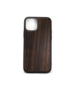 Hoentjen Creatie, Houten TPU case - iPhone 12 pro Padouk