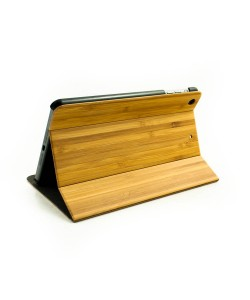 Houten iPad MINI bookcase - bamboe - Hoentjen Creatie