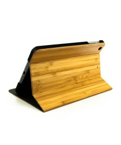 Houten iPad MINI 3 bookcase - bamboe - Hoentjen Creatie