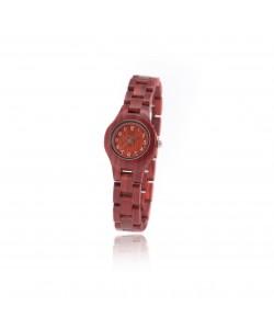 Houten horloge Bali - Hoentjen Creatie