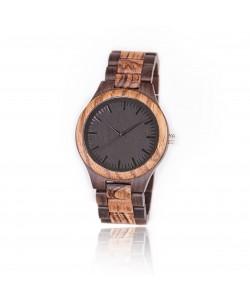 Hoentjen Creatie, houten horloge – Galapagos