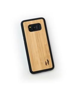 Hoentjen Creatie - Houten TPU case, Samsung Galaxy S8 - bamboe
