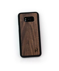 Houten TPU case, Samsung Galaxy S8 plus - Notenhout