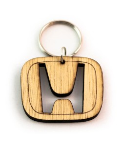 Hoentjen Creatie, Houten sleutelhanger - Honda