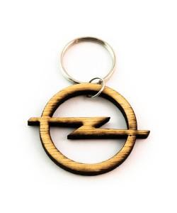 Hoentjen Creatie, Houten sleutelhanger - Opel