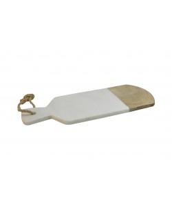Hoentjen Creatie - Houten/Marmeren Paddleboard, Wit