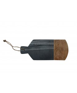 Hoentjen Creatie - Houten/Marmeren Paddleboard, Zwart/Grijs