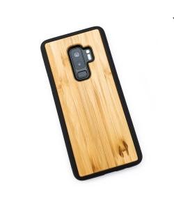Hoentjen Creatie - Houten TPU case, Samsung Galaxy S9+ - Bamboe