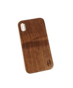 Hoentjen Creatie, Echt houten hardcase hoesje iPhone Xr - notenhout