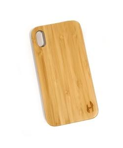 Hoentjen Creatie, Echt houten hardcase hoesje iPhone Xr - bamboe
