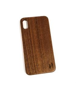 Hoentjen Creatie, Echt houten hardcase hoesje iPhone Xs Max - notenhout