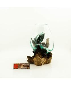 Hoentjen Creatie - Mondgeblazen vaas (serie klein) #11