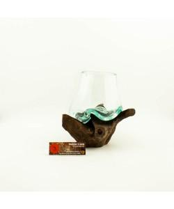 Hoentjen Creatie - Mondgeblazen vaas (serie klein) #3