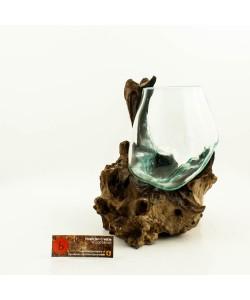 Hoentjen Creatie - Mondgeblazen vaas (serie klein) #5