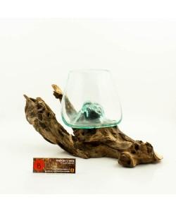 Hoentjen Creatie - Mondgeblazen vaas (serie klein) #8