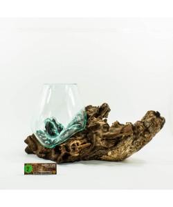 Hoentjen Creatie - Mondgeblazen vaas (serie middel) #002