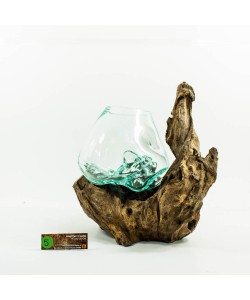 Hoentjen Creatie - Mondgeblazen vaas (serie middel) #005