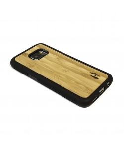 Houten TPU case, Samsung Galaxy S7 - bamboe