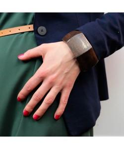 Houten armband, recht