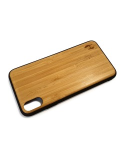 Hoentjen Creatie, Houten TPU case - iPhone XS Max Bamboe