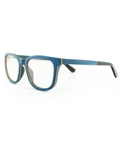 Hoentjen, houten montuur- Banff Blue
