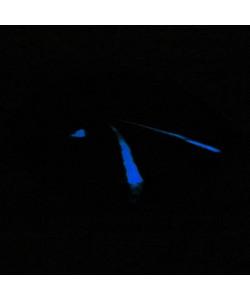 Glow in the dark - boomstam salontafel schijf