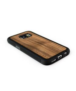 Houten TPU case, Samsung Galaxy S7 - notenhout