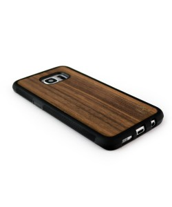 Houten TPU case, Samsung Galaxy S7 Edge - notenhout
