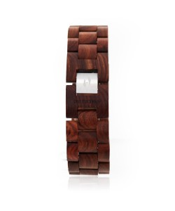 Hoentjen, houten armband - palissander, 22mm