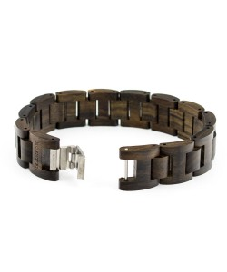 Hoentjen, houten armband - Padouk, 18mm