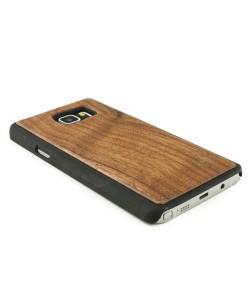 Houten hoesje, Samsung Galaxy NOTE 5 - donker notenhout