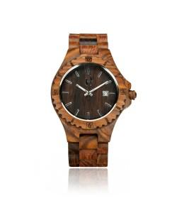 Hoentjen, houten horloge – Bora Bora