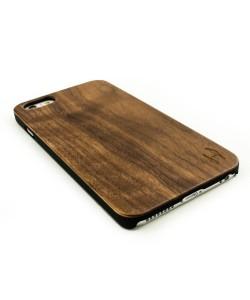 Echt houten hardcase hoesje iPhone 6 Plus / 6s Plus - notenhout