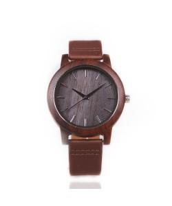 Hoentjen Houten Horloge - Santorini