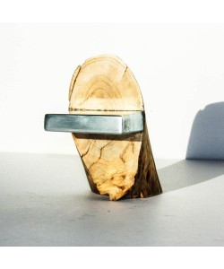 "Kunst object 1 ""Hout ontmoet Staal"" (wood design) Hoentjen"