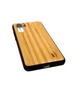 Hoentjen Creatie, Houten TPU hoesje - Huawei P30 Pro Bamboe