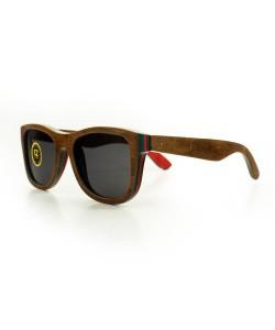 Hoentjen, houten zonnebril- Tenerife (Carl Zeiss glazen)