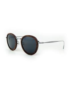 Hoentjen, houten zonnebril - Jeffreys Bay Zilver