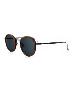 Hoentjen, houten zonnebril - Jeffreys Bay Zwart