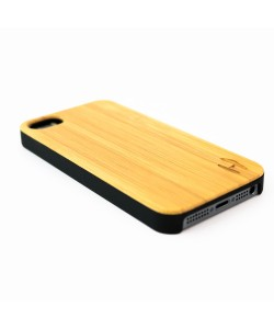 Bamboo hard case hoesje iPhone SE