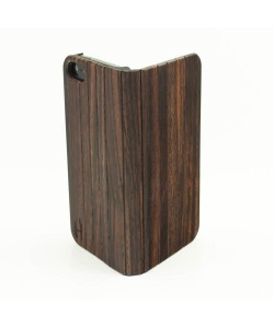 Houten design flip case, iPhone 5 / 5S – Padouk