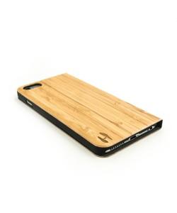 Houten design flip case, iPhone 6 Plus / 6s Plus – Bamboe