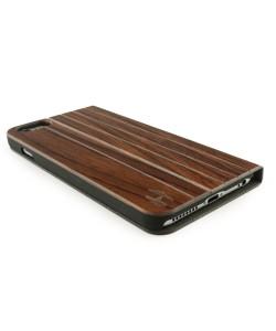 Houten design flip case, iPhone 6 Plus / 6s Plus – Padouk