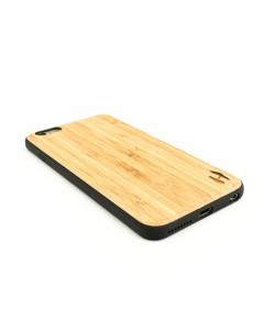 Houten TPU case, iPhone 6 Plus / 6s Plus - Bamboe