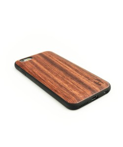 Houten TPU case, iPhone 6 / 6s - Palissander