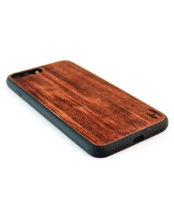 Houten TPU case, iPhone 8 Plus - Palissander